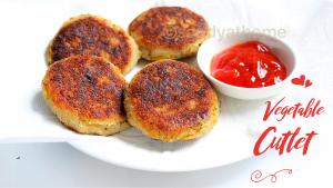 Vegetable patties, Veg cutlet recipe
