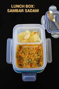 sambar sadam, lunch box