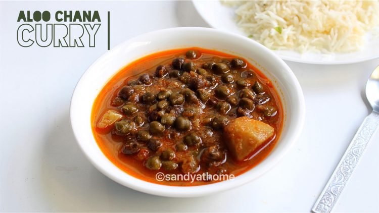 aloo chana curry