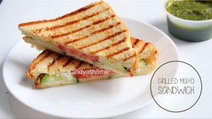 grilled mayo sandwich