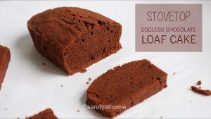 stovetop eggless chocolate cake