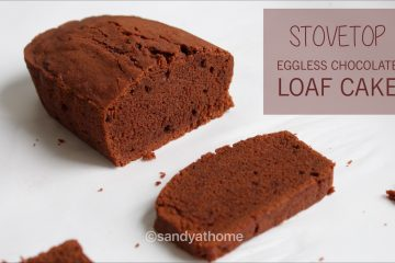 stovetop eggless chocolate cake