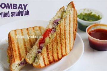 bombay grilled sandwich recipe