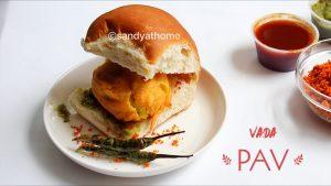street food vada pav