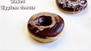 eggless donuts recipe