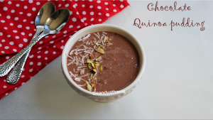 chocolate quinoa pudding recipe