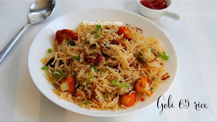 gobi 65 rice