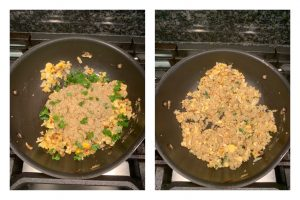 egg quinoa