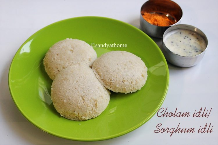 cholam idli recipe