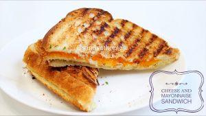 mayo cheese sandwich