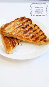 mayonnaise and cheese sandwich recipe
