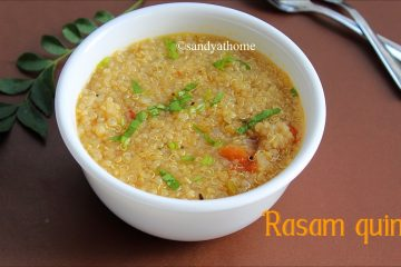 quinoa rasam recipe