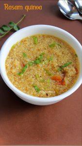 rasam quinoa