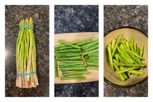asparagus bajji