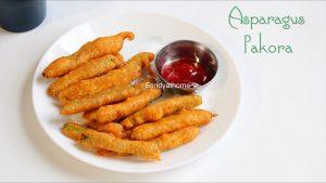 asparagus pakora