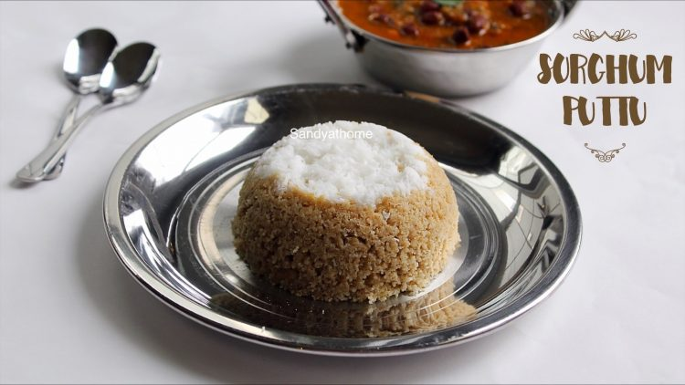 jowar puttu recipe