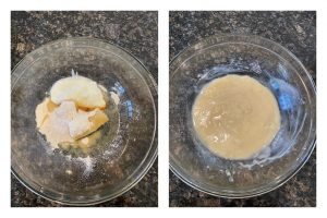 eggless bajra banana cake