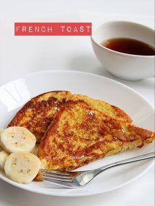 french toast with egg recipe
