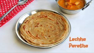 how to make lachha paratha