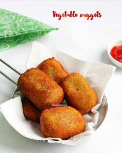 homemade vegetable nuggets