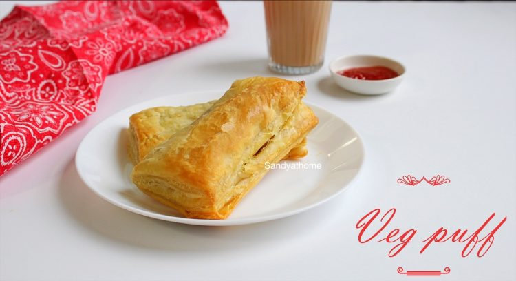 how to make vegetable puffs