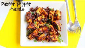 pepper paneer