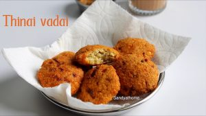 thinai vadai