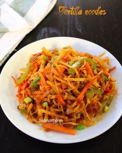 veg tortilla noodles