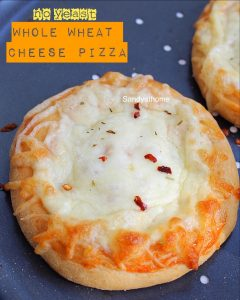 whole wheat cheese pizza