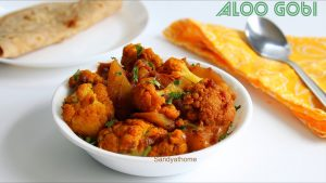 aloo gobi with step by step images