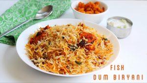 fish dum biryani recipe