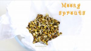 green gram sprouts
