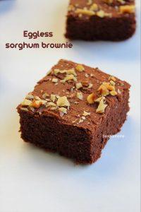 jowar brownie recipe