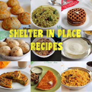 shelter in place recipes