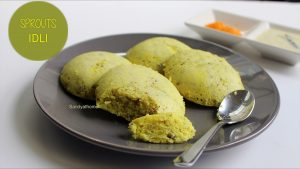 sprouts idli