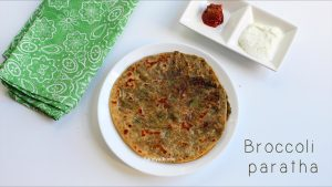 broccoli paratha recipe
