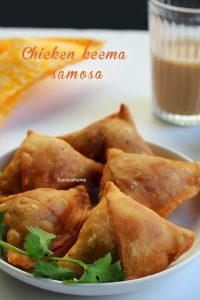 chicken keema samosa recipe