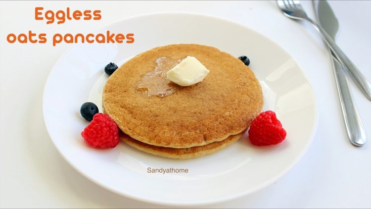 eggless pancakes recipe