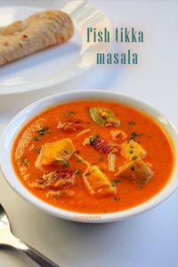 fish tikka masala