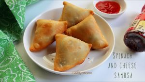 spinach and cheese samosa recipe