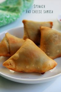 spinach samosa recipe