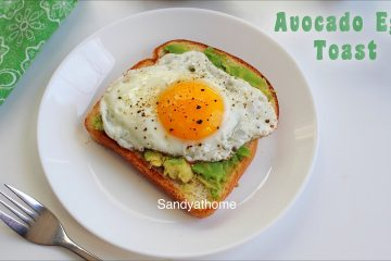 avocado egg toast recipe