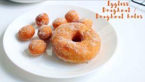 eggless doughnut