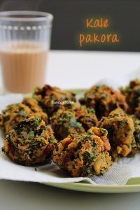 kale pakora recipe