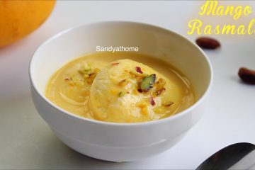 mango rasmalai recipe