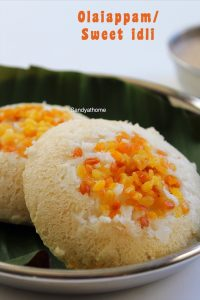 sweet idli recipe
