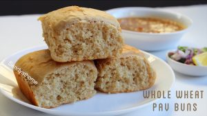 wheat pav buns
