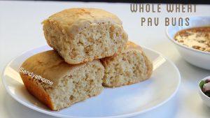 wheat pav buns recipe