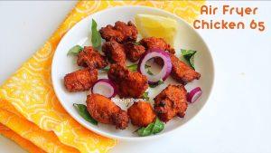 air fryer chicken 65 recipe