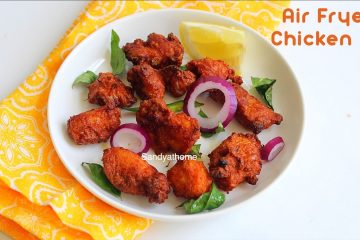 air fryer chicken 65 recipe